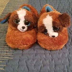 TY Beanie Boo slippers.